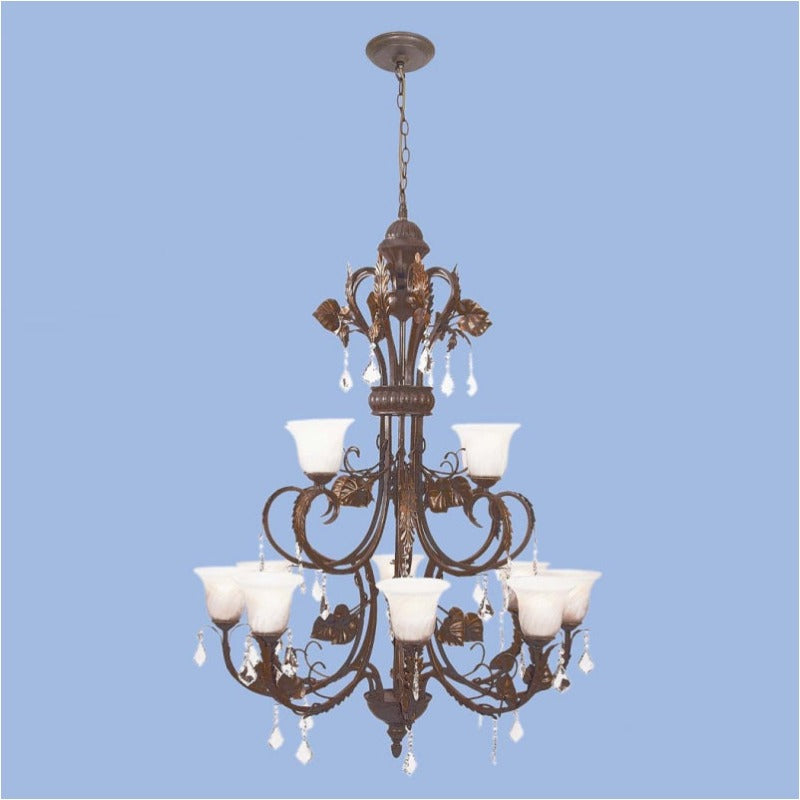 Chandelier CH5035/8+4 BR/GD