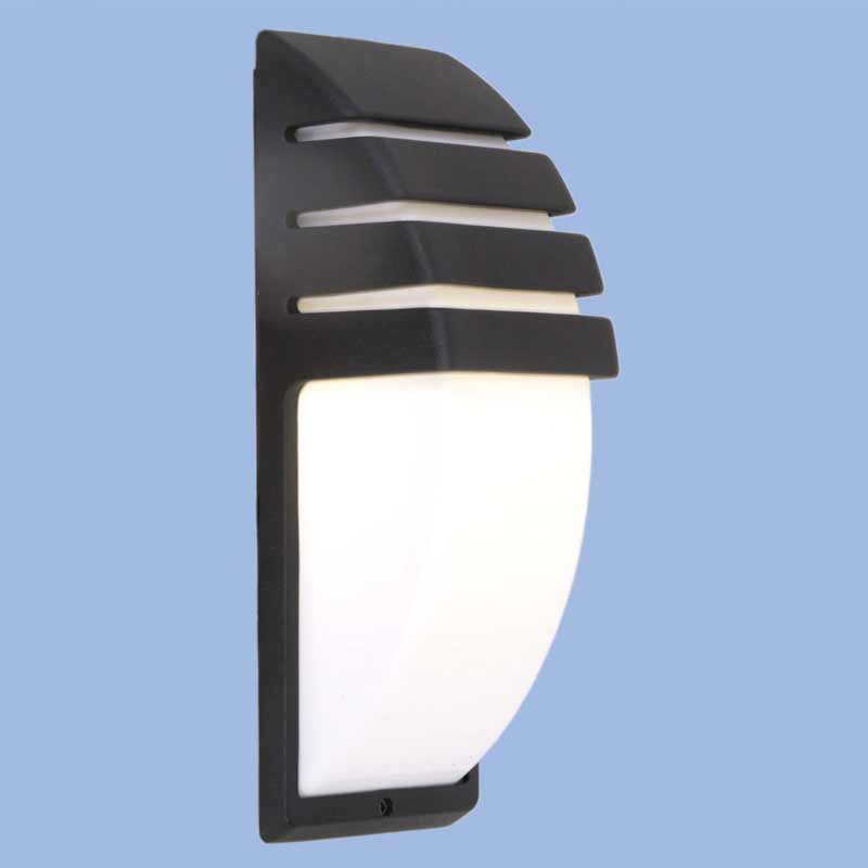 OUTDOOR BULKHEAD L236 BLACK