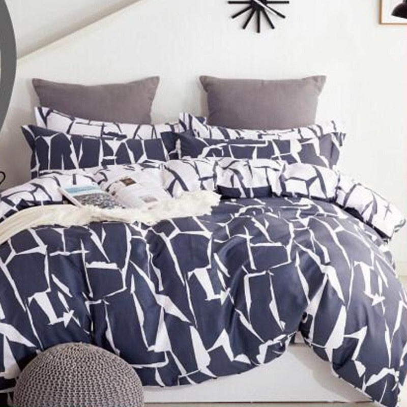 Cotton Maxwell Duvet Cover Set 200 Thread Count