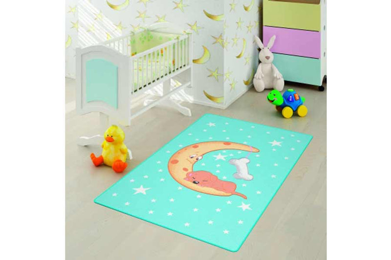 Kiddies Moon Rug 100X160