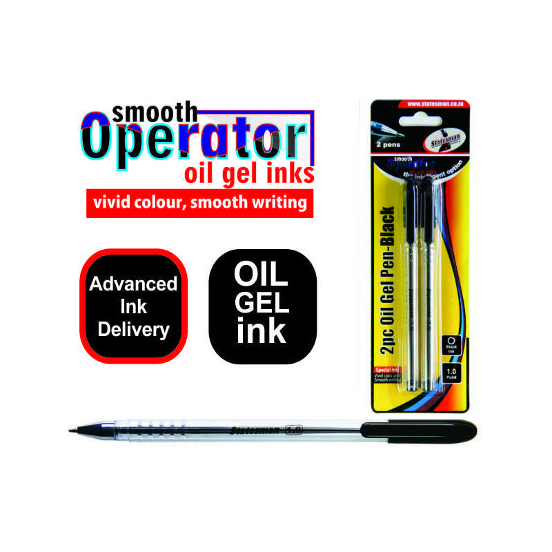 Smooth Operator Oil Gel Pens