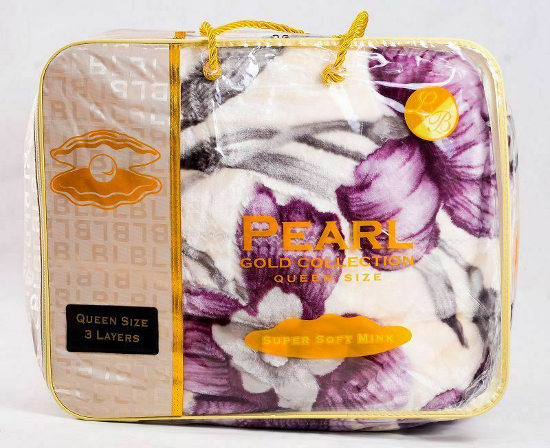 Pearl Super Soft 3Ply Queen Blanket