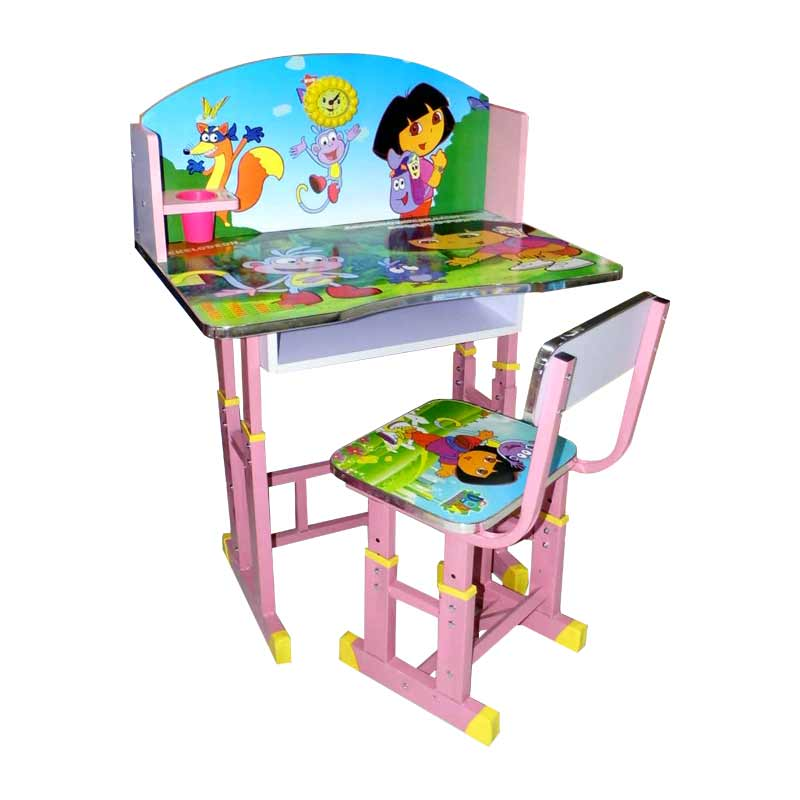 Kiddies table & chairs dora wda-158