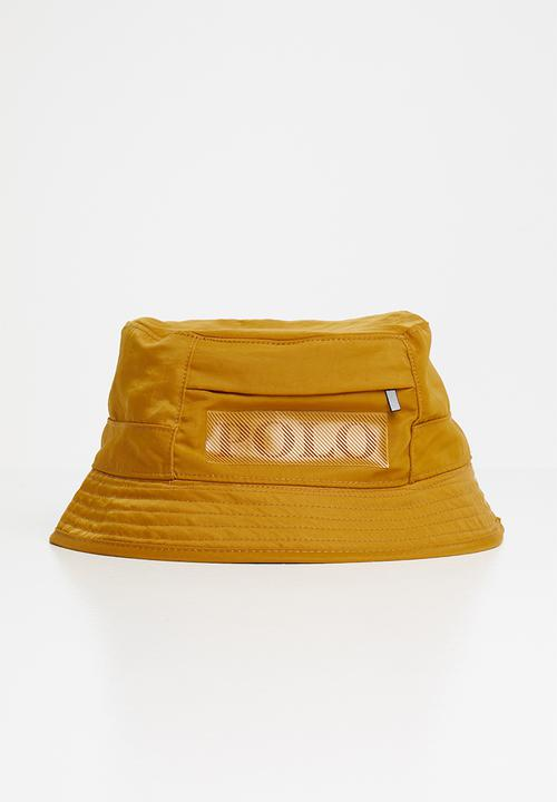 Polo Men's  Hector Crinckle Bucket -Mustard