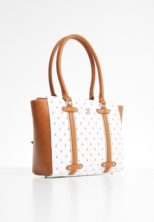 Polo Tote Bag White Handbag