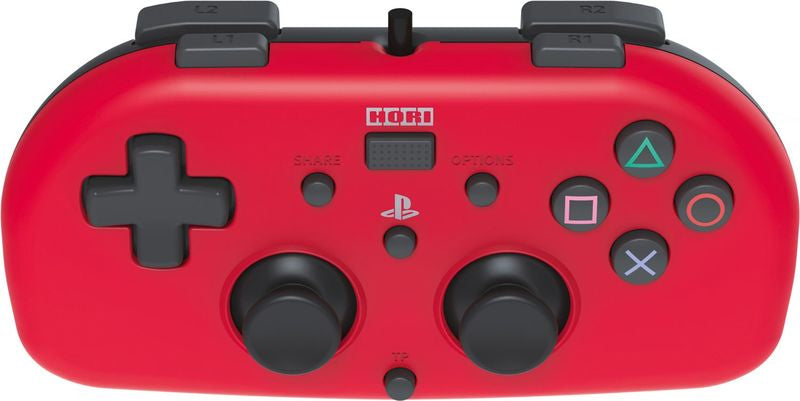 HORI - Horipad Wired Mini Gamepad - Red (PS4)