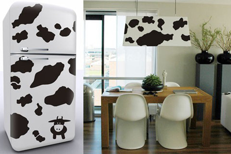Cow Print vinyl wall stickers