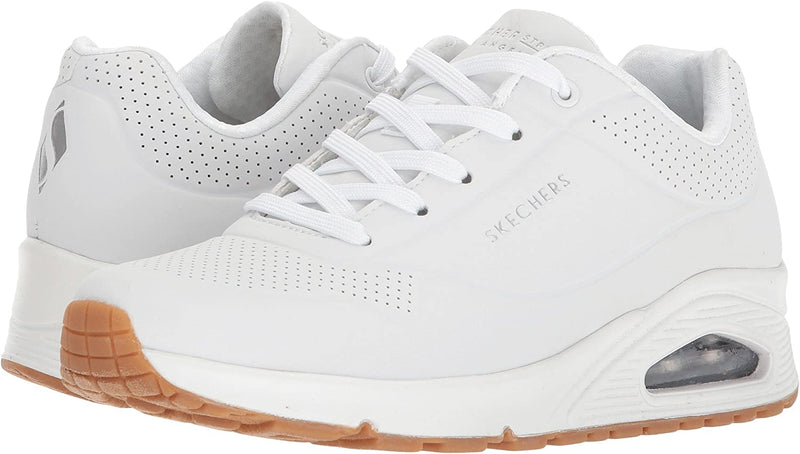 Skechers Uno Stand On Air Ladies Sneakers White
