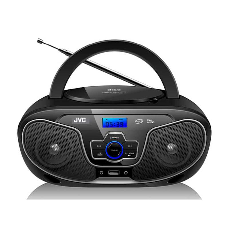 JVC  RV-N33BT Bluetooth Portable CD and MP3 Player with USB