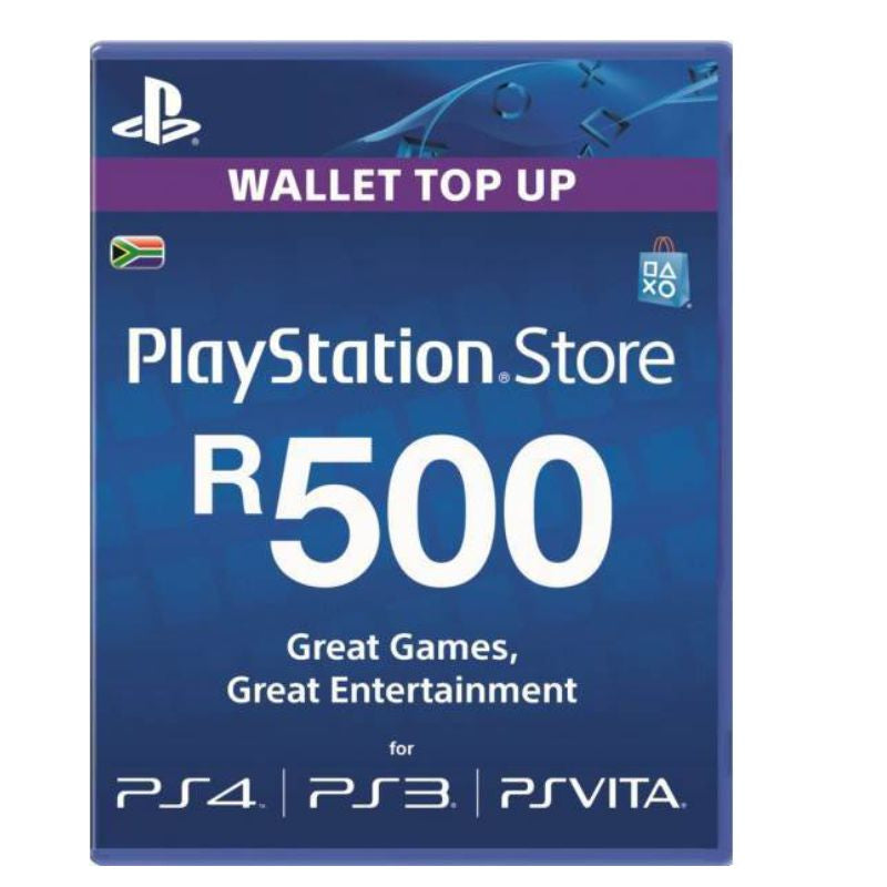 Playstation Store Voucher R500