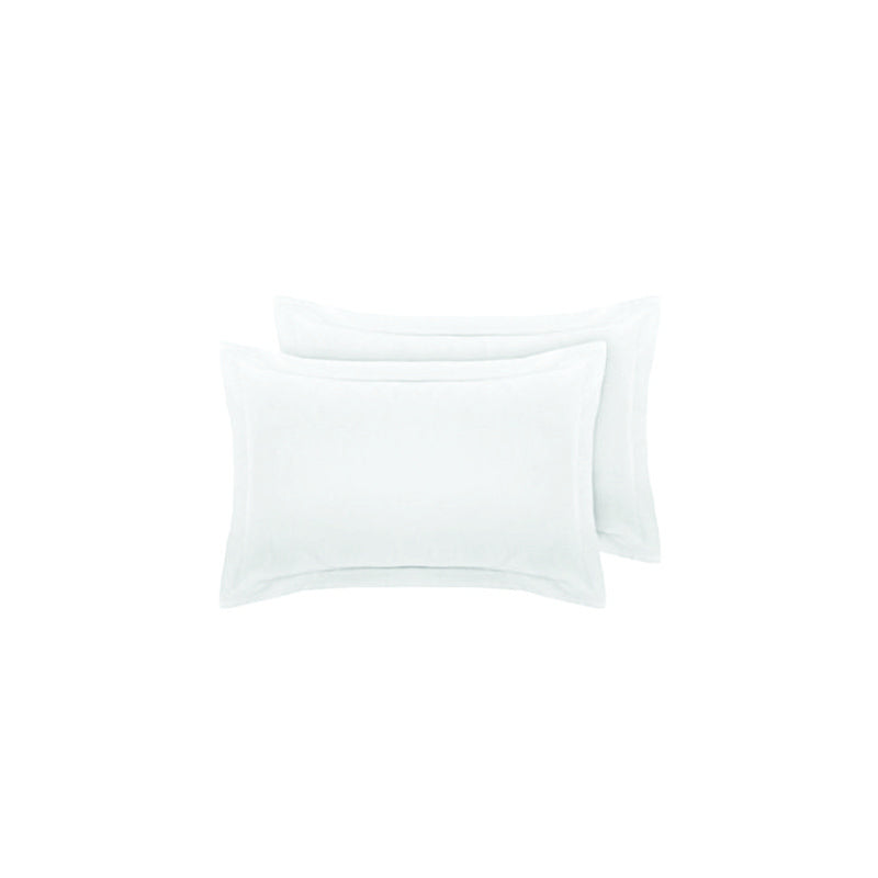 Egyptian Cotton Standard Oxford Pillow Cases 600 Thread Count