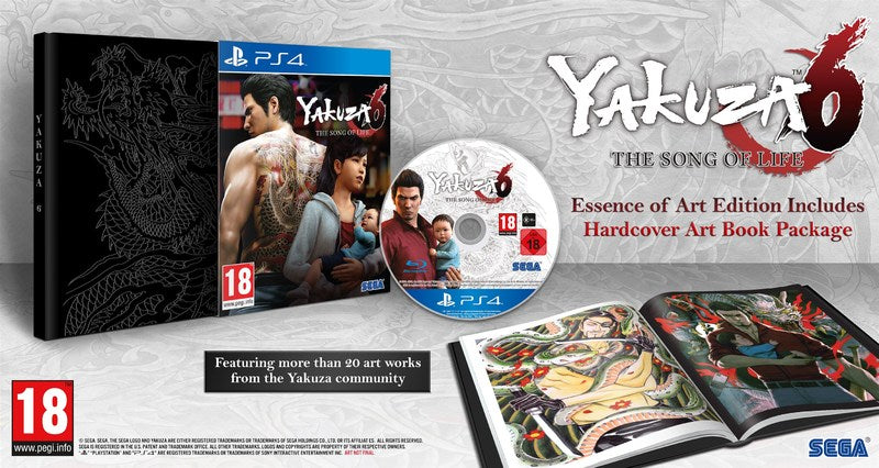 Yakuza 6: The Song of Life - Limited Edition (PS4)