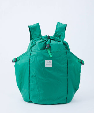 ANELLO Pokepa Drawstring Backpack – Green