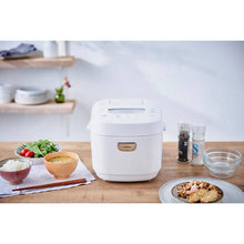 Load image into Gallery viewer, Iris Ohyama RC-ME50-W Microcomputer Rice Cooker – 5.5 Go Capacity – White