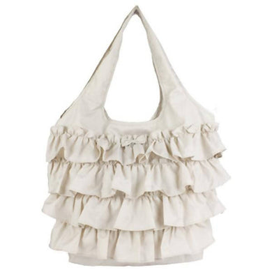 Romantic Princess (Romapri) Frill Eco Bag – Ivory Color