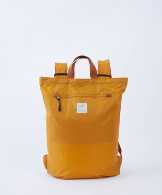 ANELLO Pokepa Tote Bag Backpack – Mustard