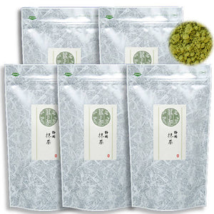 TAKAMURAEN Shizuoka Green Tea Matcha Powder 500g – 100g x 5 Bags – Shipped Directly from Japan