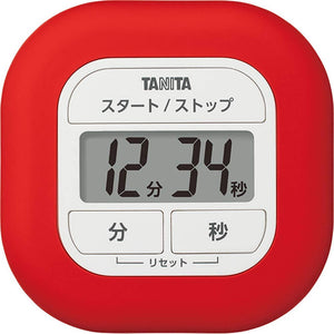 TANITA Kitchen Timer Red TD-420-RD – New Japanese Invention Featured on NHK TV!