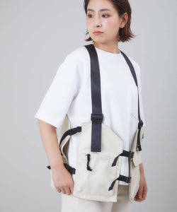 ANELLO Backpack Vest – Ivory