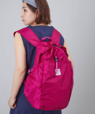 ANELLO Pokepa Drawstring Backpack – Pink