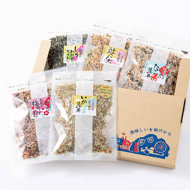 Five Different Furikake (Rice Seasoning) Variety Pack – 60 g x 5