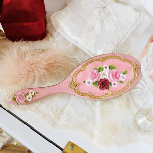 Romantic Princess (Romapri) Royal Rose Hand Mirror – Pink Color