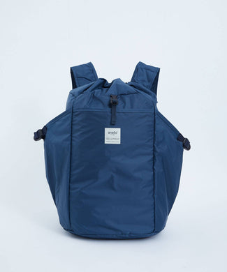 ANELLO Pokepa Drawstring Backpack – Navy