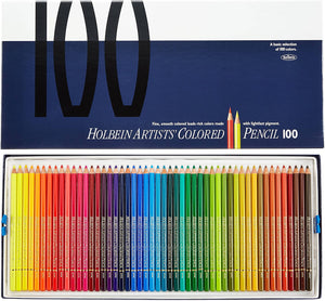 HOLBEIN Artists' Colored Pencils – 100 Color Set – OP940