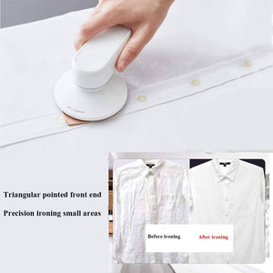 DETI Portable Wireless Mini Handheld Ironing Machine – with Slot for Cellphone Charging