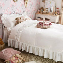 Load image into Gallery viewer, Romantic Princess (Romapri) Sweet Rose Lace Pillowcase – Set of 2 – White
