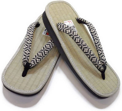 YAMATOKO Men's Traditional Japanese Tatami Setta Sandals