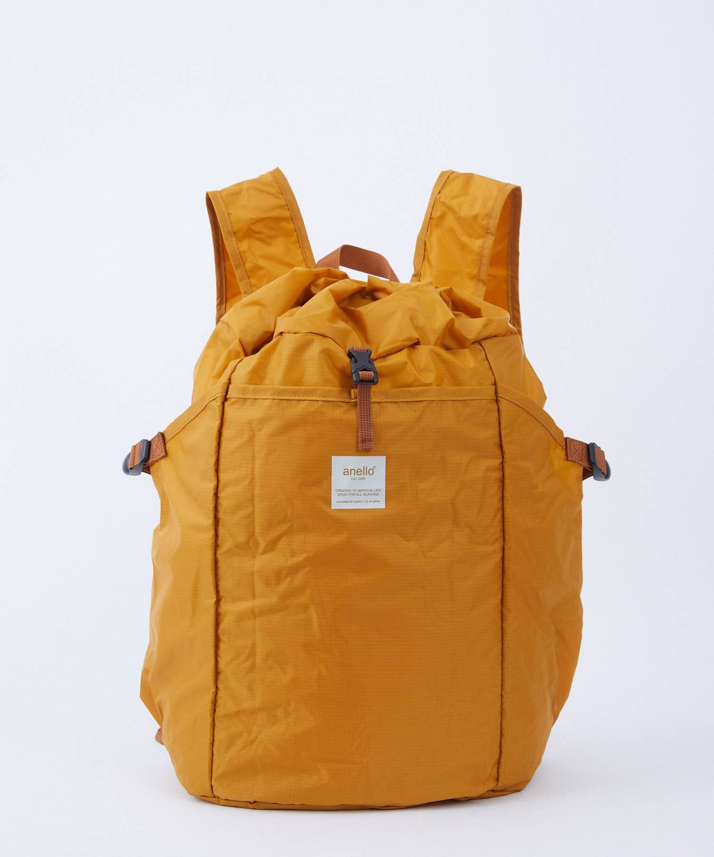ANELLO Pokepa Drawstring Backpack – Mustard