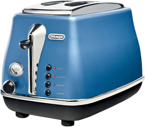 DeLonghi Icona Collection Pop-up Toaster Blue CTO2003J-B