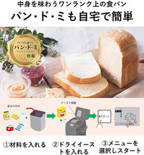 Load image into Gallery viewer, Panasonic SD-MDX102-W Home Bread Maker