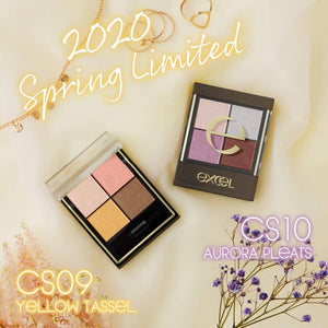 EXCEL Real Close Shadow CS10 (Aurora Pleat) Eye Shadow 3.5g – 2020 Spring Limited