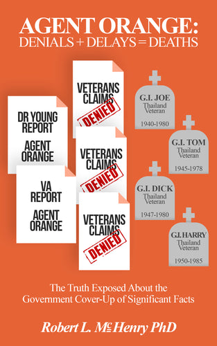 Agent Orange: Denials+Delays=Deaths (All Titles Ship After Release Date)