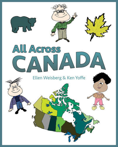 All Across Canada (Hardcover) (All Titles Ship After Release Date)