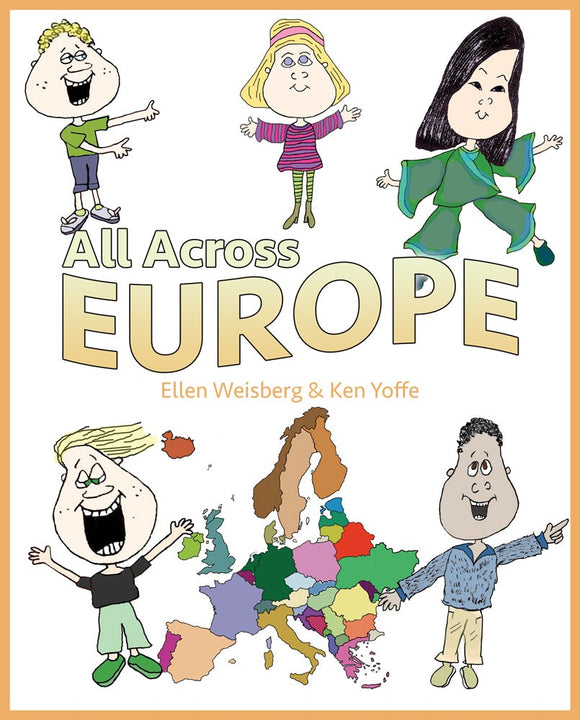All Across Europe (Hardcover) (All Titles Ship After Release Date)