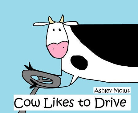 Cow Likes to Drive