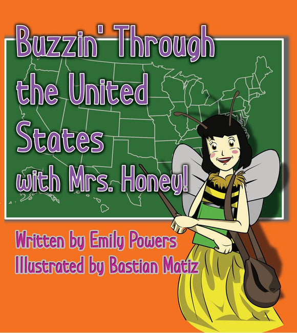 Buzzin' Around the United States with Mrs. Honey! (All Titles Ship After Release Date)