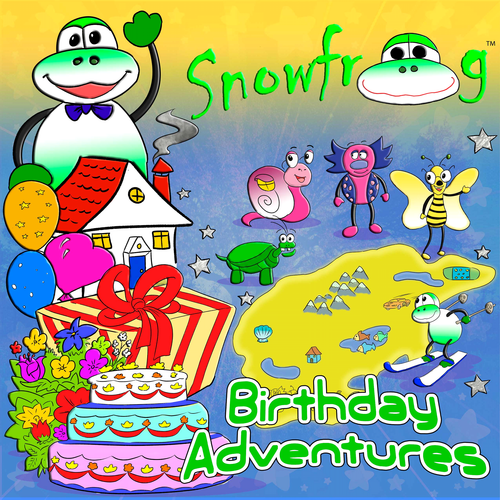 Snow Frog Birthday Adventures Snow Frog Series, Book 1