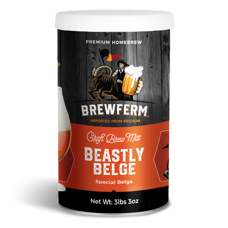 Beastly Belge - Craft Homebrew Beer Mix for 12 L / 406 fl.oz