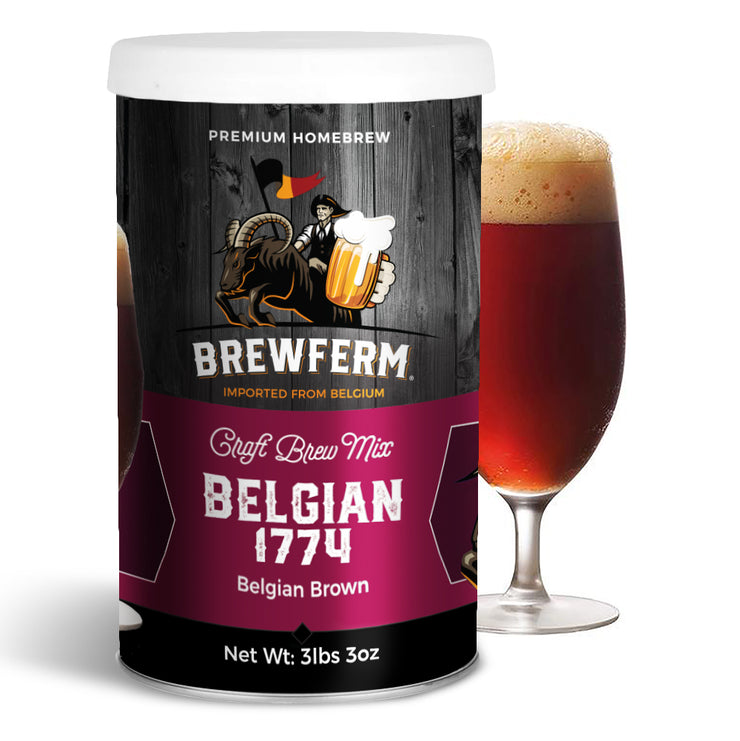 Belgian 1774 - Craft Homebrew Beer Mix for 15L/4gal