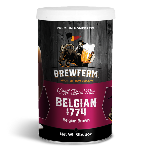 Belgian 1774 - Craft Homebrew Beer Mix for 15 L / 507 fl.oz