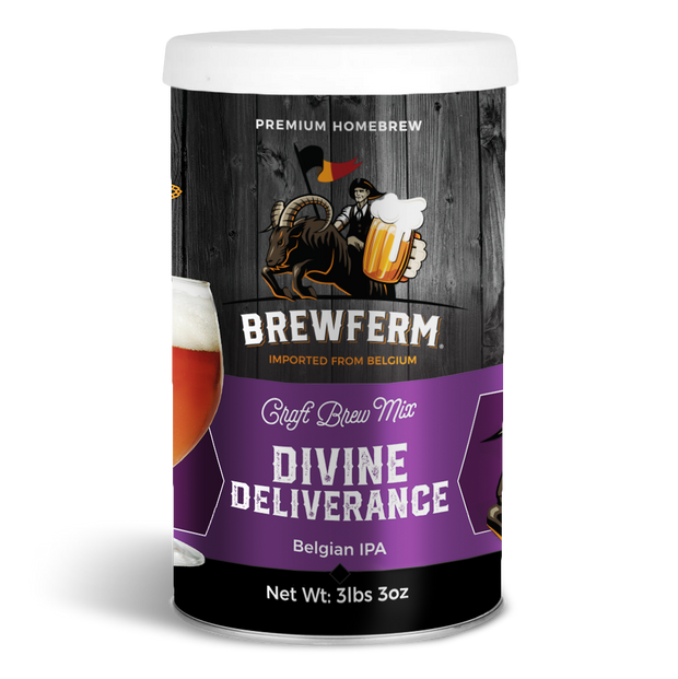 Divine Deliverance - Homebrew Craft Beer Mix for 12 L / 406 fl.oz