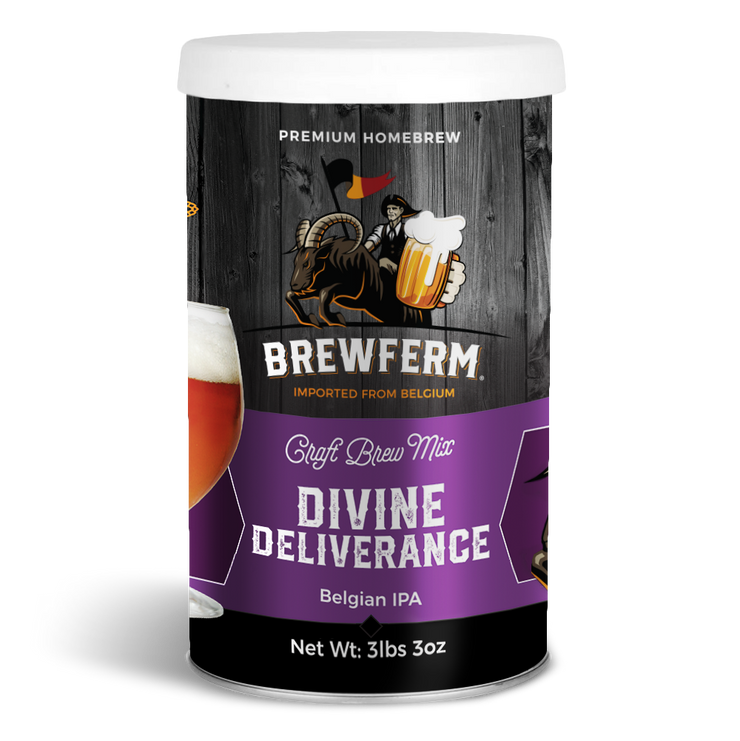 Divine Deliverance - Homebrew Craft Beer Mix for 12 L / 406 fl.oz-Beer Kit-Brewferm