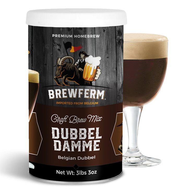 Dubbel Damme  - Homebrew Craft Beer Mix for 9L/2.5gal