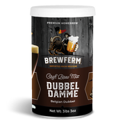 Dubbel Damme - Homebrew Craft Beer Mix for 9 L / 304 fl.oz-Beer Kit-Brewferm