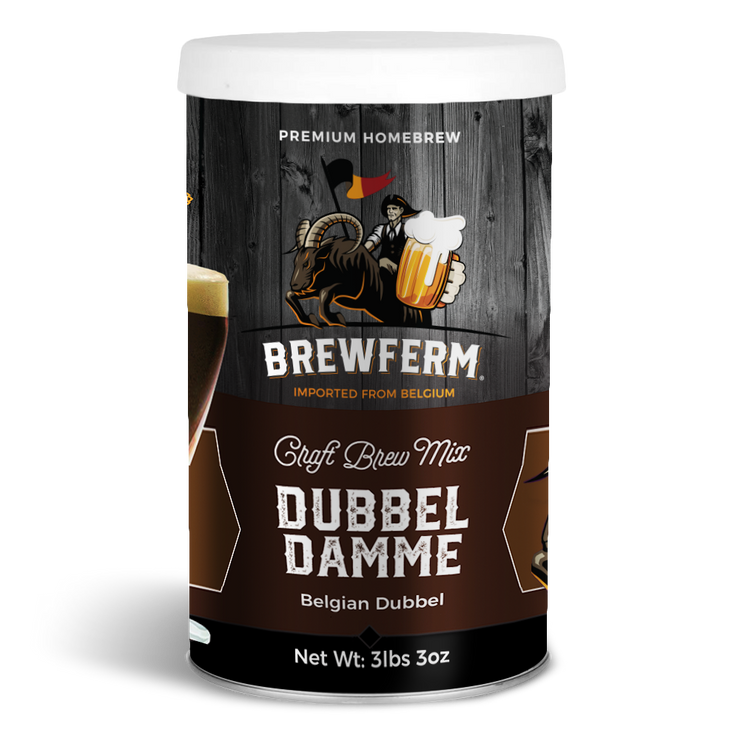 Dubbel Damme  - Homebrew Craft Beer Mix for 9 L / 304 fl.oz