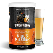 Pious Pilsner - Homebrew Craft Beer Mix for 12L/3gal